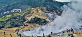 Wisata Banjarnegara : Kawah Candradimuka tempat Bayi Gatotkoco