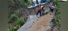 Jalan desa Desa Bantar dan Suwidak Wanayasa Banjarnegara Terputus
