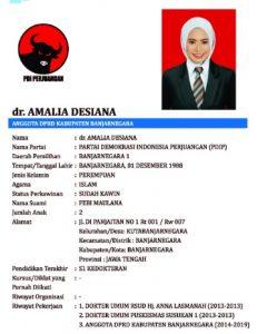 dr Amalia Desiana